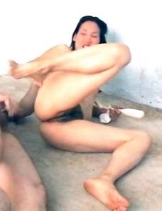 Amateur wild horny Chinese slut getting banged