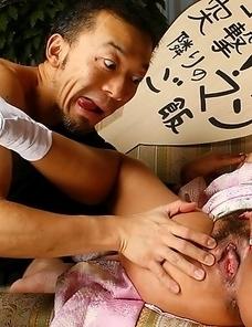 Kaede Moritaka gets nailed at home