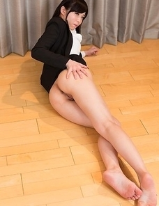 Shino Aoi is a leggy minx that gets half-naked before getting her legs fucked