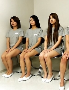 Super hot group sex in the prison