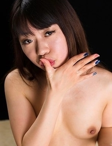Chiho Arimura Gives Sloppy Cum Covered Blowjob