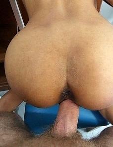 Thai MILF sucking and fucking