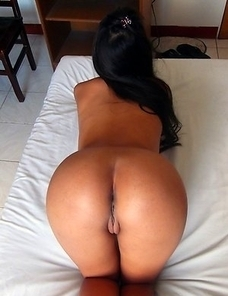 Filipina with perfect brown ass Ashley