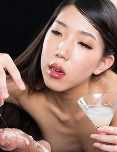 Rio Kamimoto Collects Lots of Cum for An Extra Sloppy Handjob