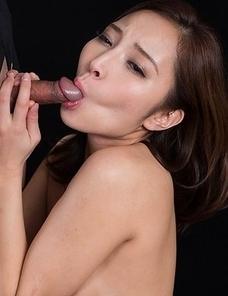 Uika Hoshikawa Strokes with Cum