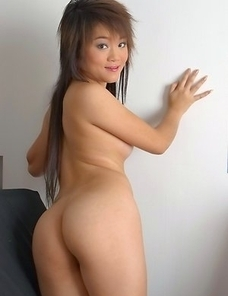 Honey Rym is so sexy that you will not be able to take your eyes off of her. She sits on a sofa and begins rubbing on her breasts.